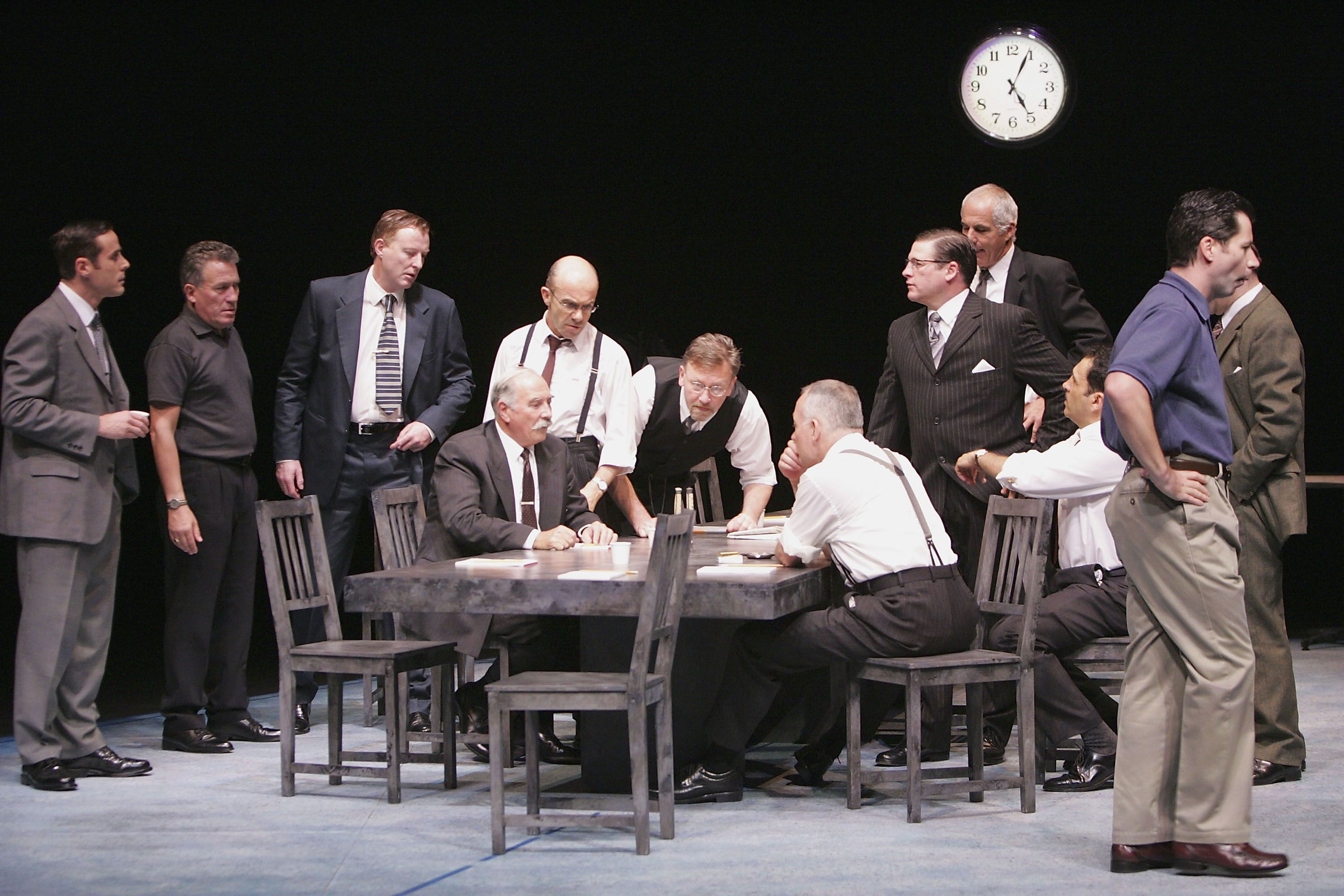 Twelve Angry Men Meet The Characters Of The Drama
