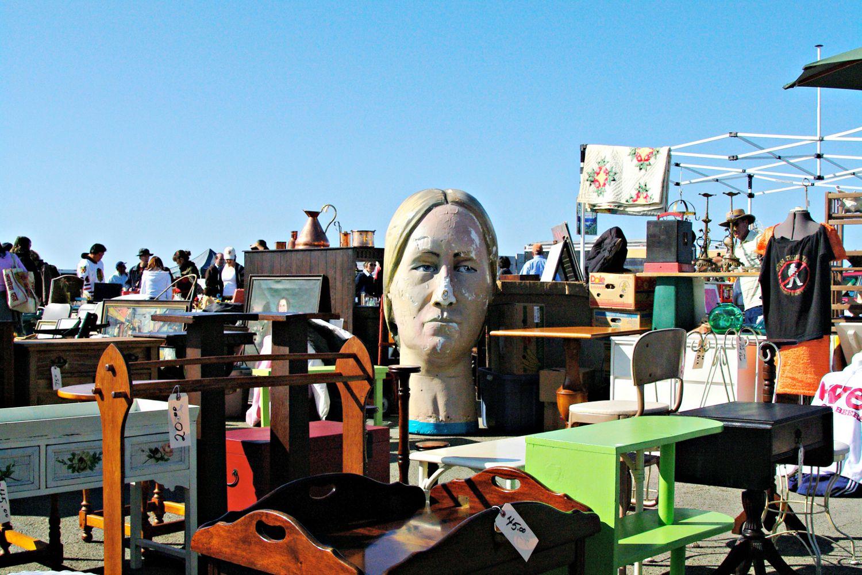 Decorating Flea Market Garden