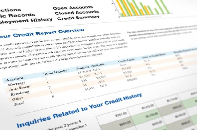 Three credit bureaus