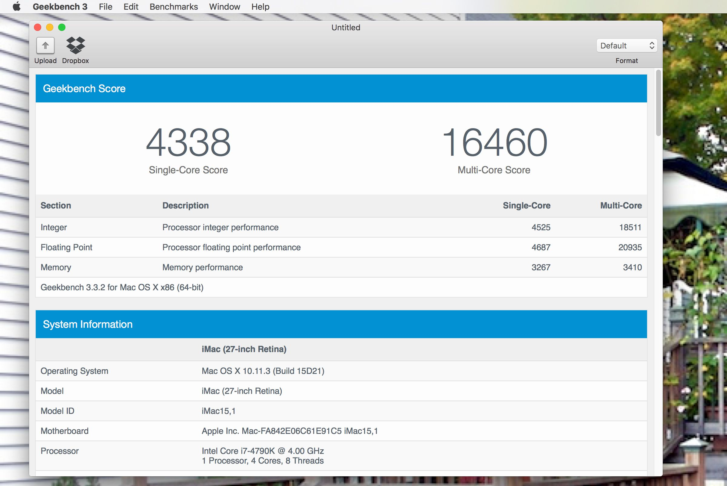 Geekbench 3 Tom S Mac Software Pick