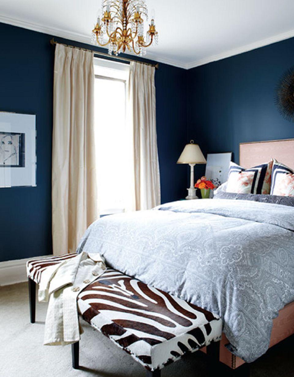 25 stunning blue bedroom ideas Dark Blue Bedroom Ideas id=49346
