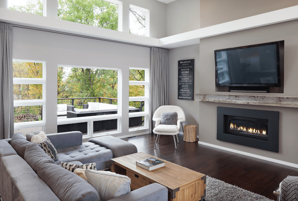 Photo courtesy of ann lowengart photo by: Gray Living Room Ideas