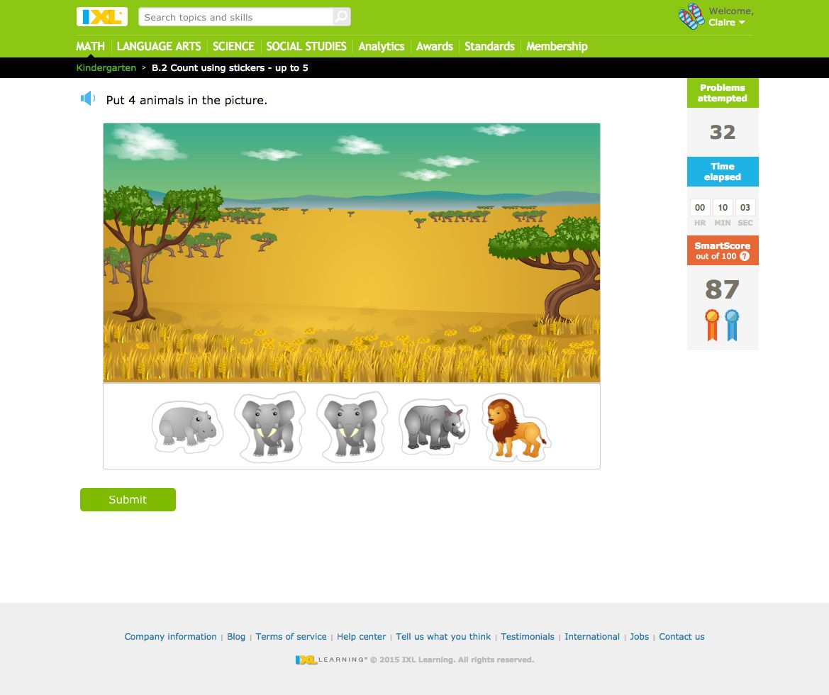 Ixl Printable Worksheets Tutore