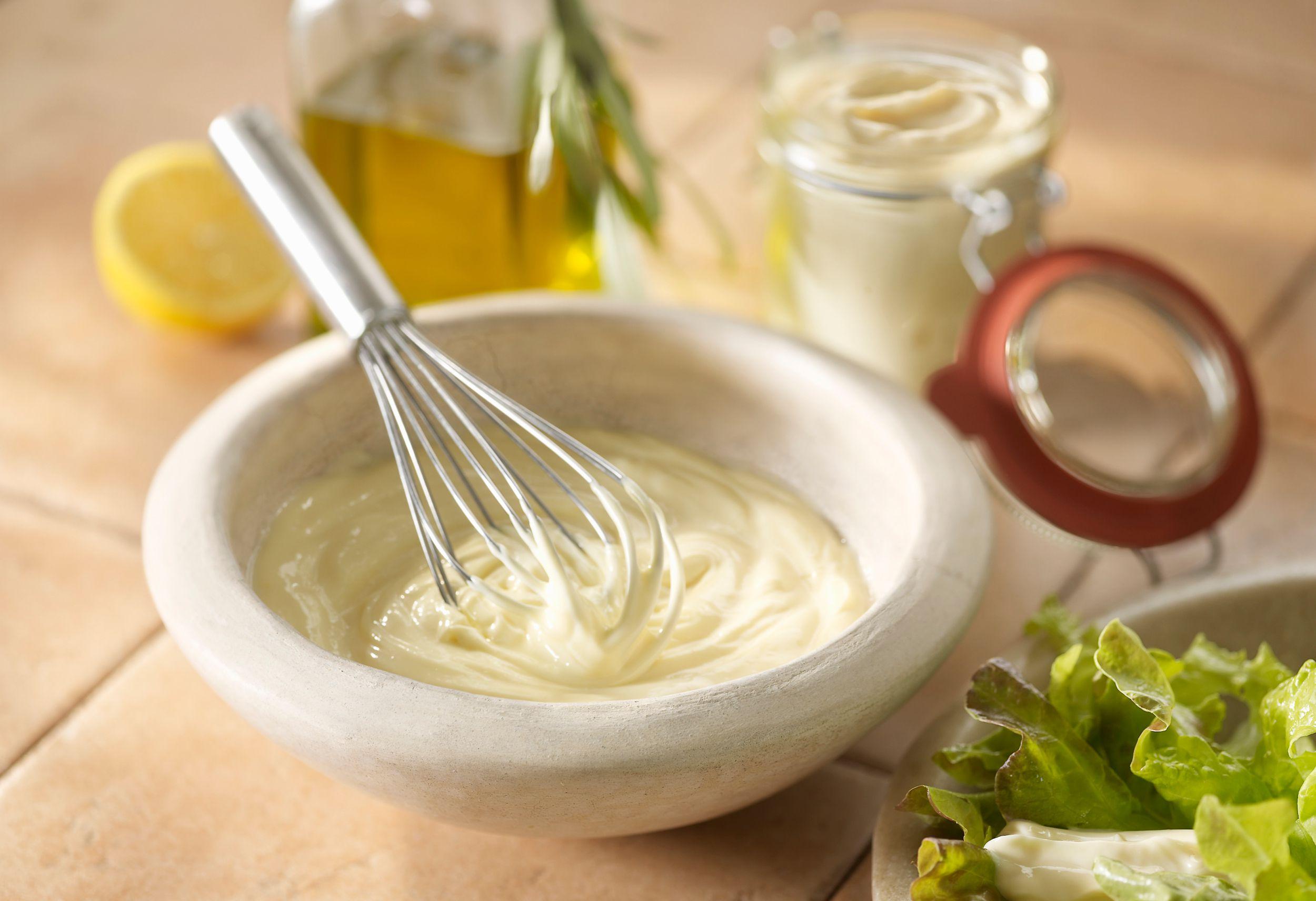 Basic Homemade Mayonnaise Recipe