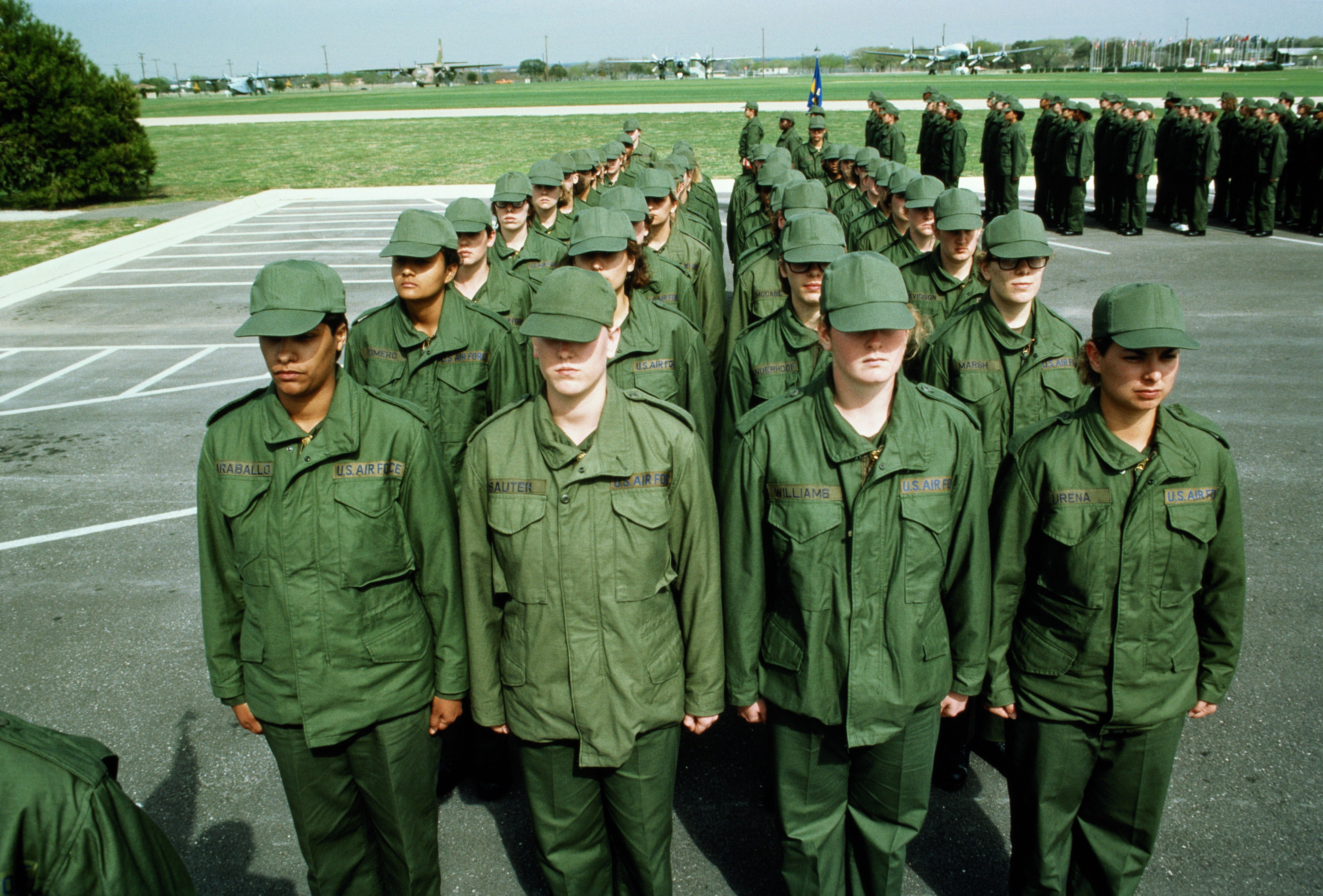 Leave And Passes During Air Force Basic Training