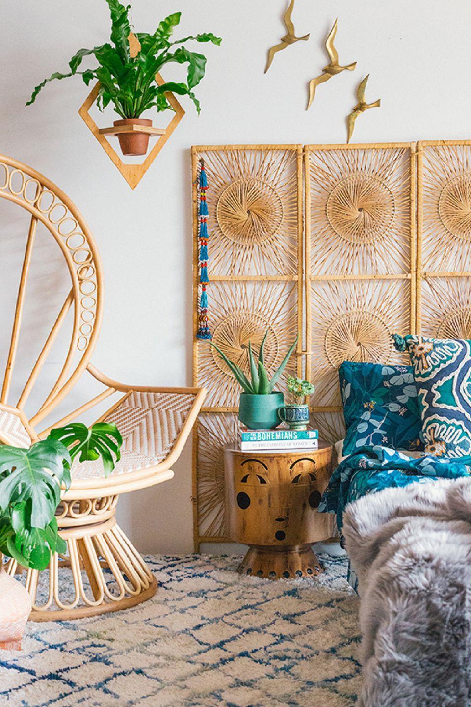 Beautiful Boho Bedroom Decorating Ideas and Photos on Boho Room Decor  id=17845