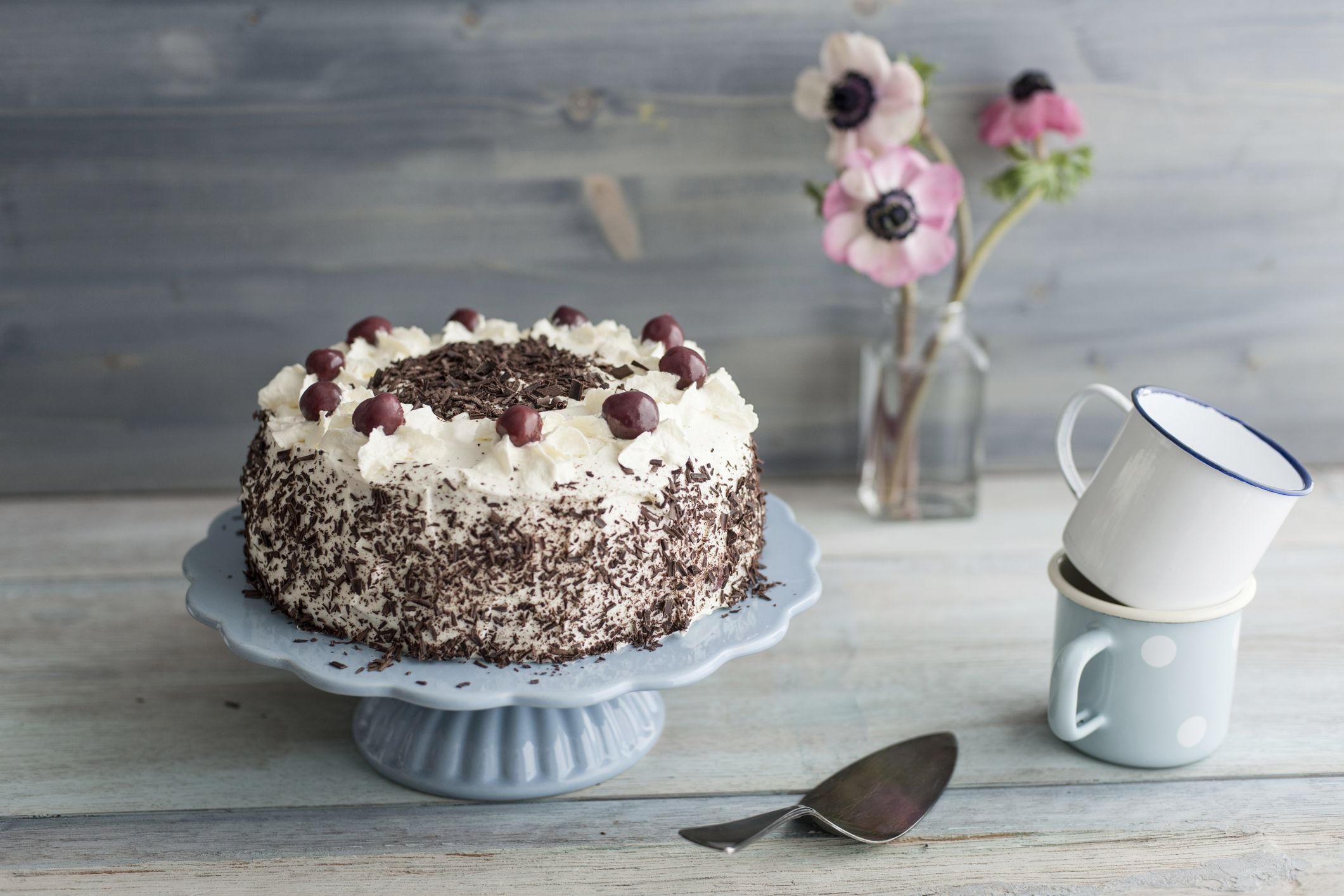 Simple Black Forest Layer Cake Recipe