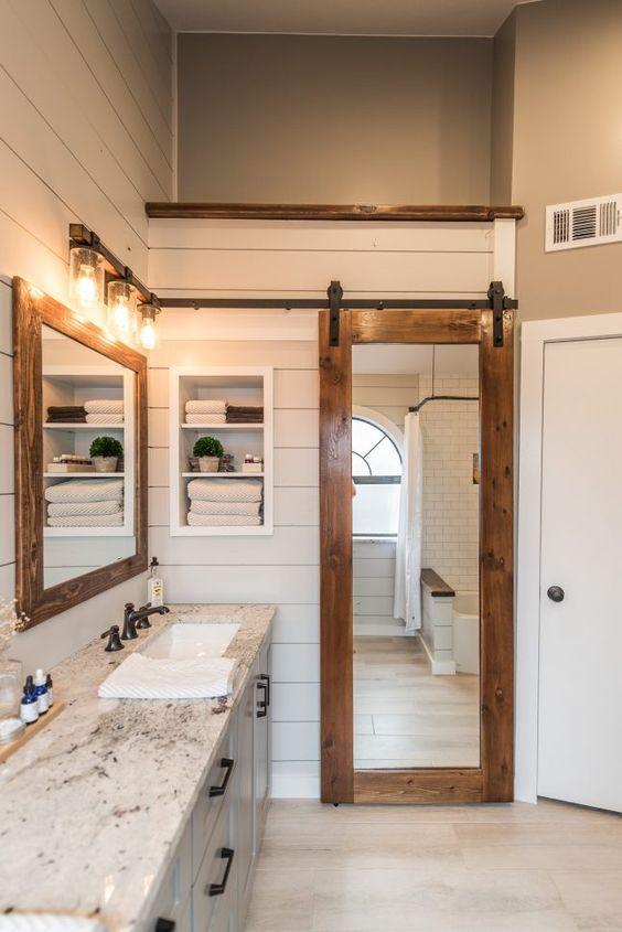 16 Modern Farmhouse Bathrooms on Farmhouse Bathroom  id=92222