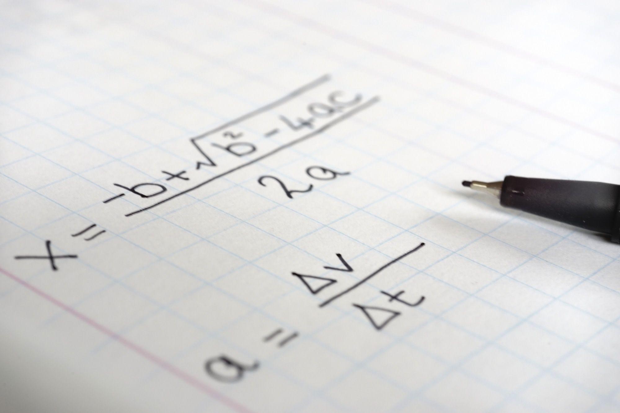 Using The Quadratic Formula With No X Intercept