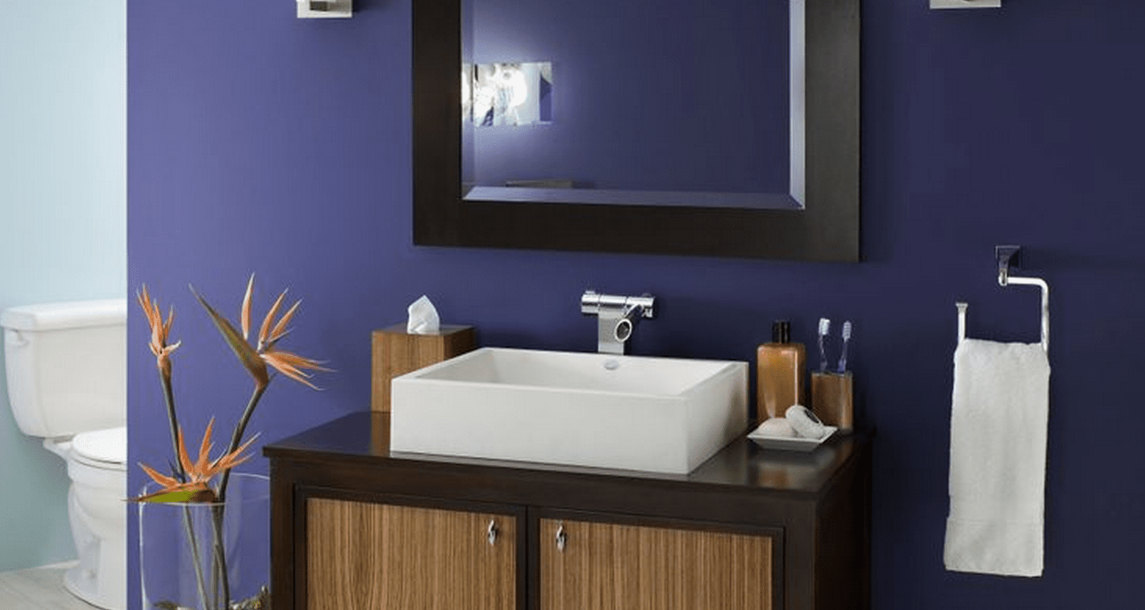 paint color ideas for a small bathroom on best paint colors for bathroom with no windows id=19017