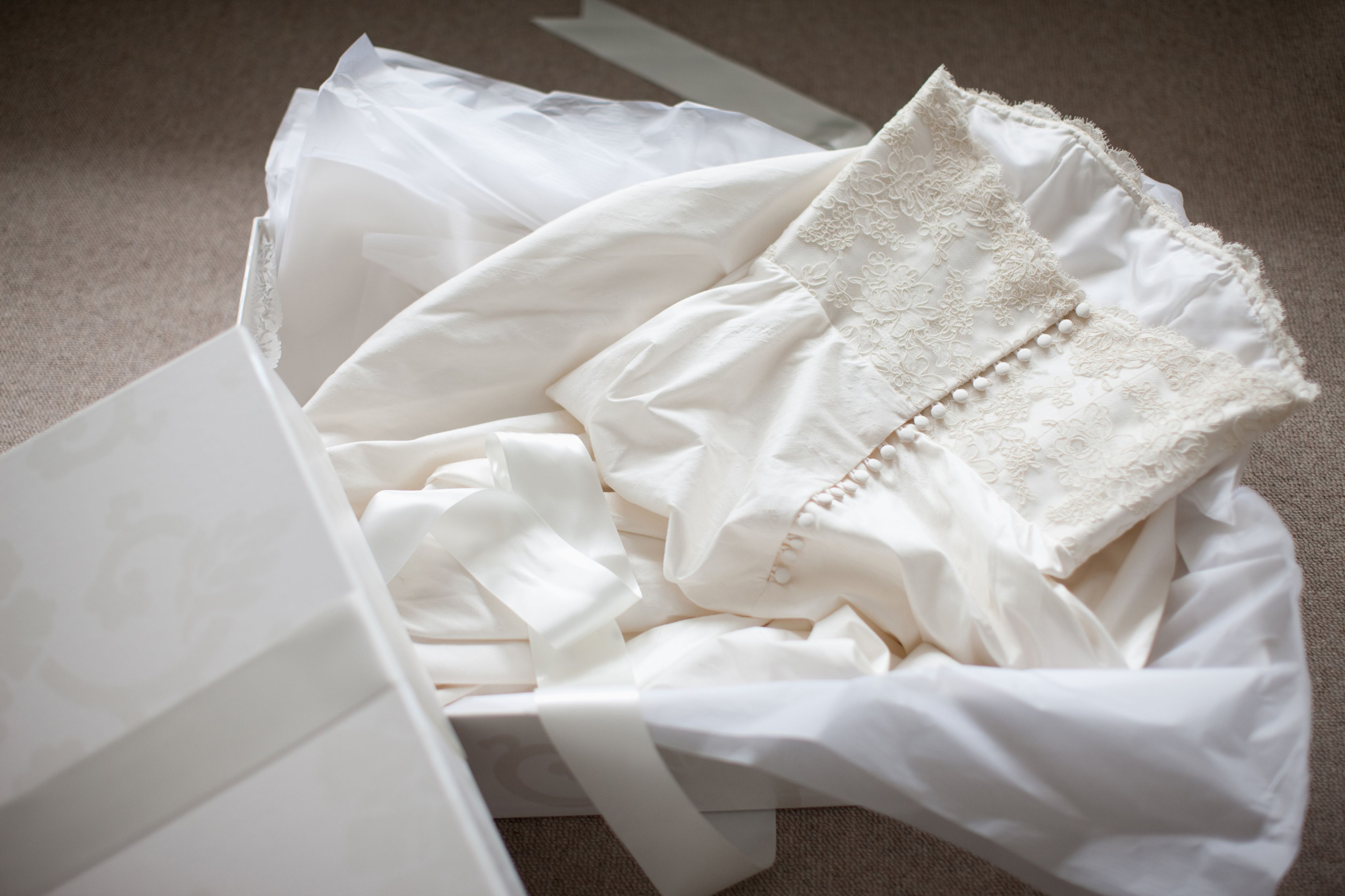 How To Clean, Preserve And Store A Wedding Gown