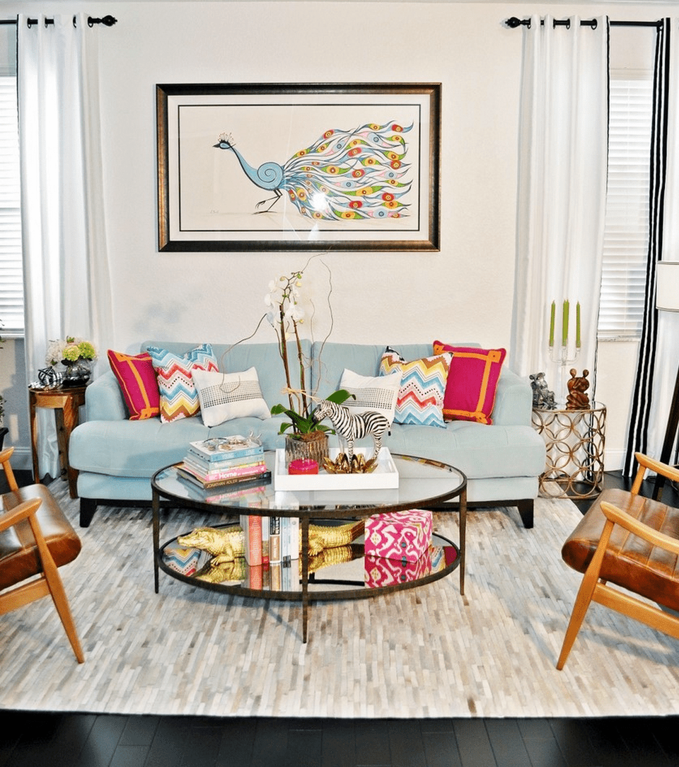 21 Colorful Living Rooms to Crave on Colourful Living Room  id=56774