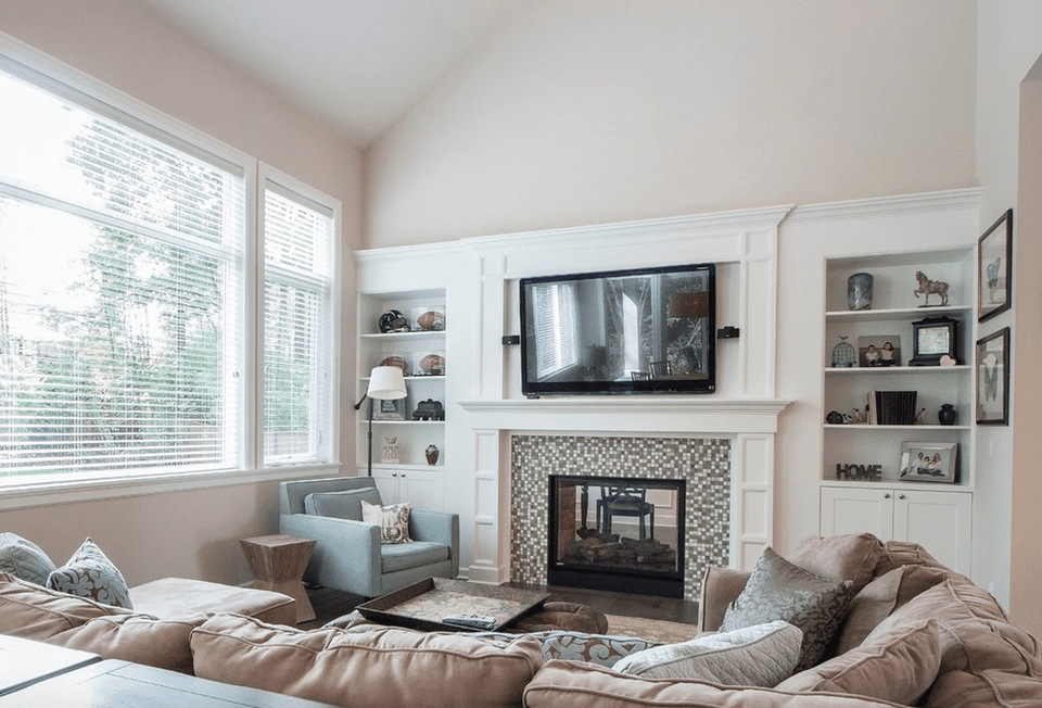 20+ Beautiful Living Rooms With Fireplaces on Small Space Small Living Room With Fireplace  id=48965