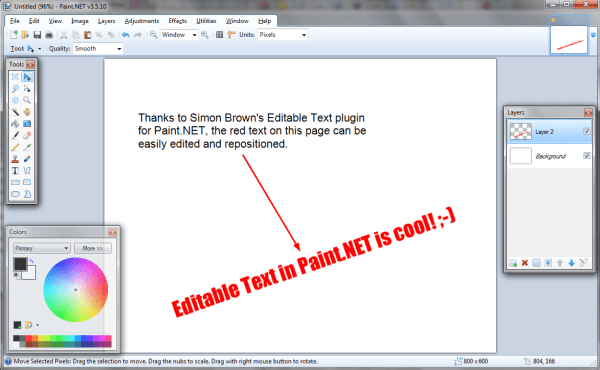 How to Edit Text in Paint.NET