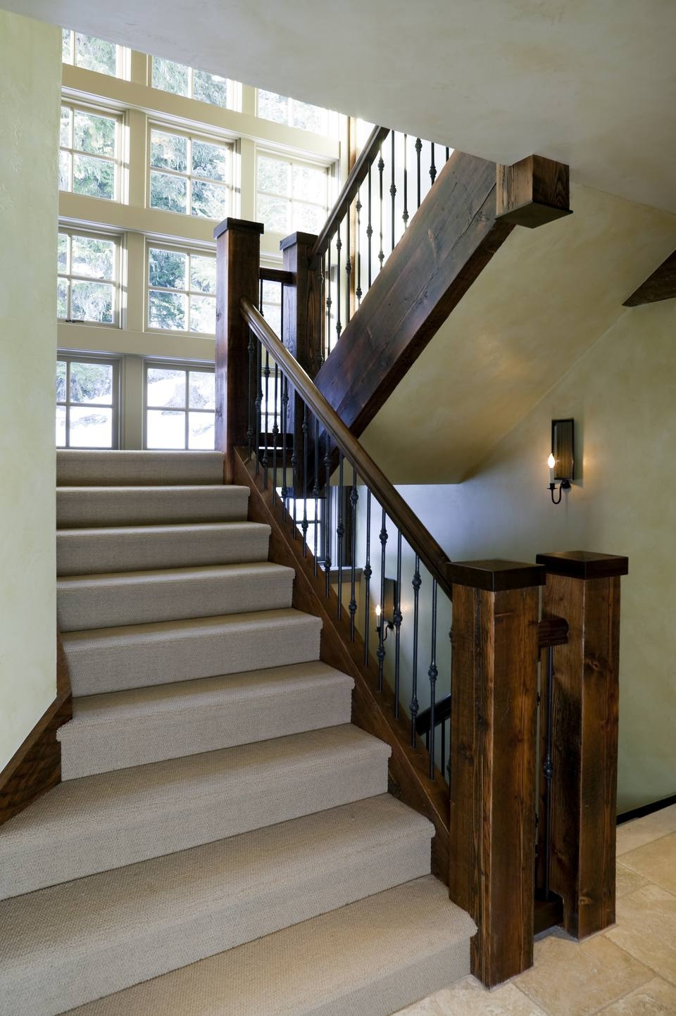 Patterned Carpet With Recessed Lighting   Twist Carpet For Stairs