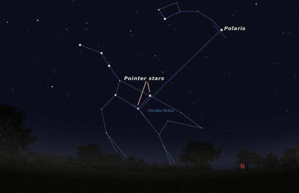"""The """"North Star"""", Polaris, isn't the brightest star in the ..."""