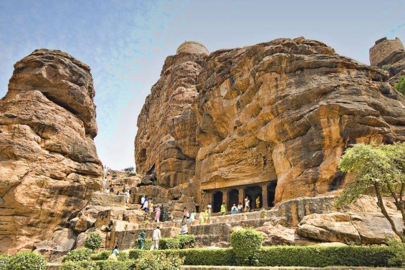 Badami caves.