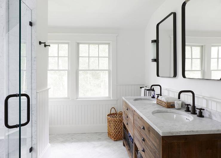 16 Modern Farmhouse Bathrooms on Bathroom Ideas Modern Farmhouse  id=78890