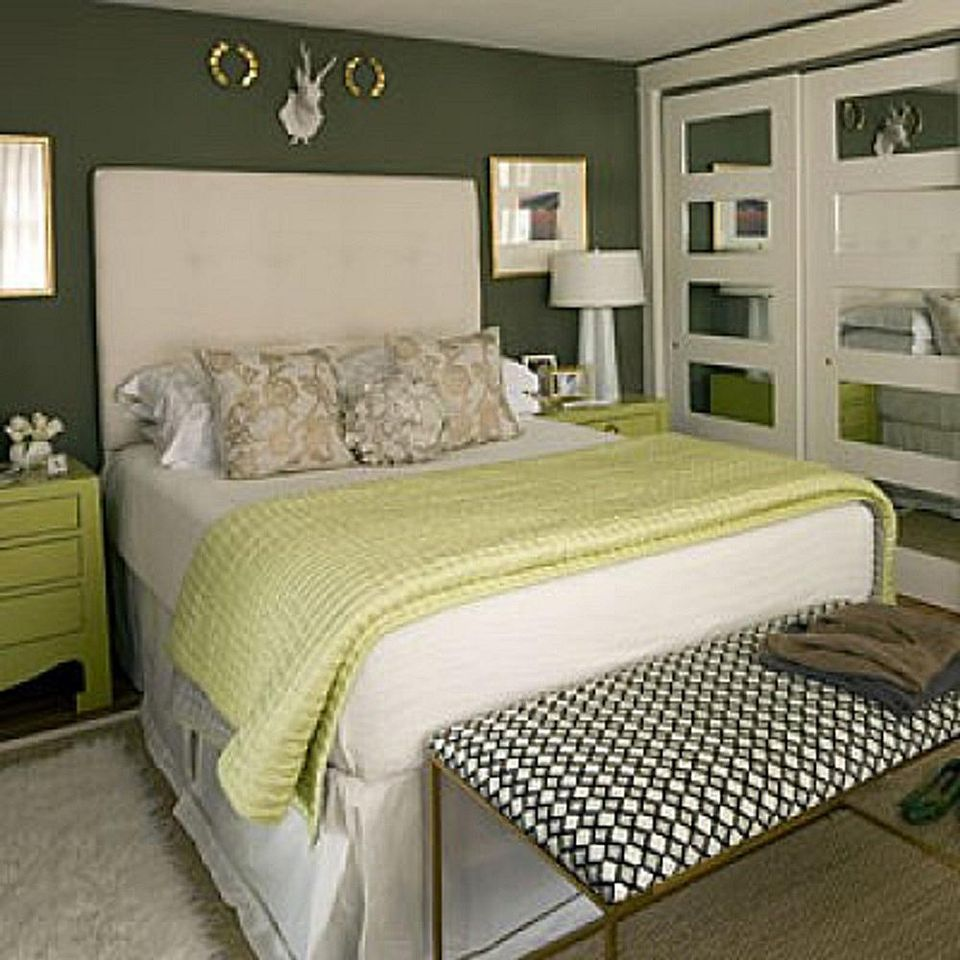 title   Green Bedroom