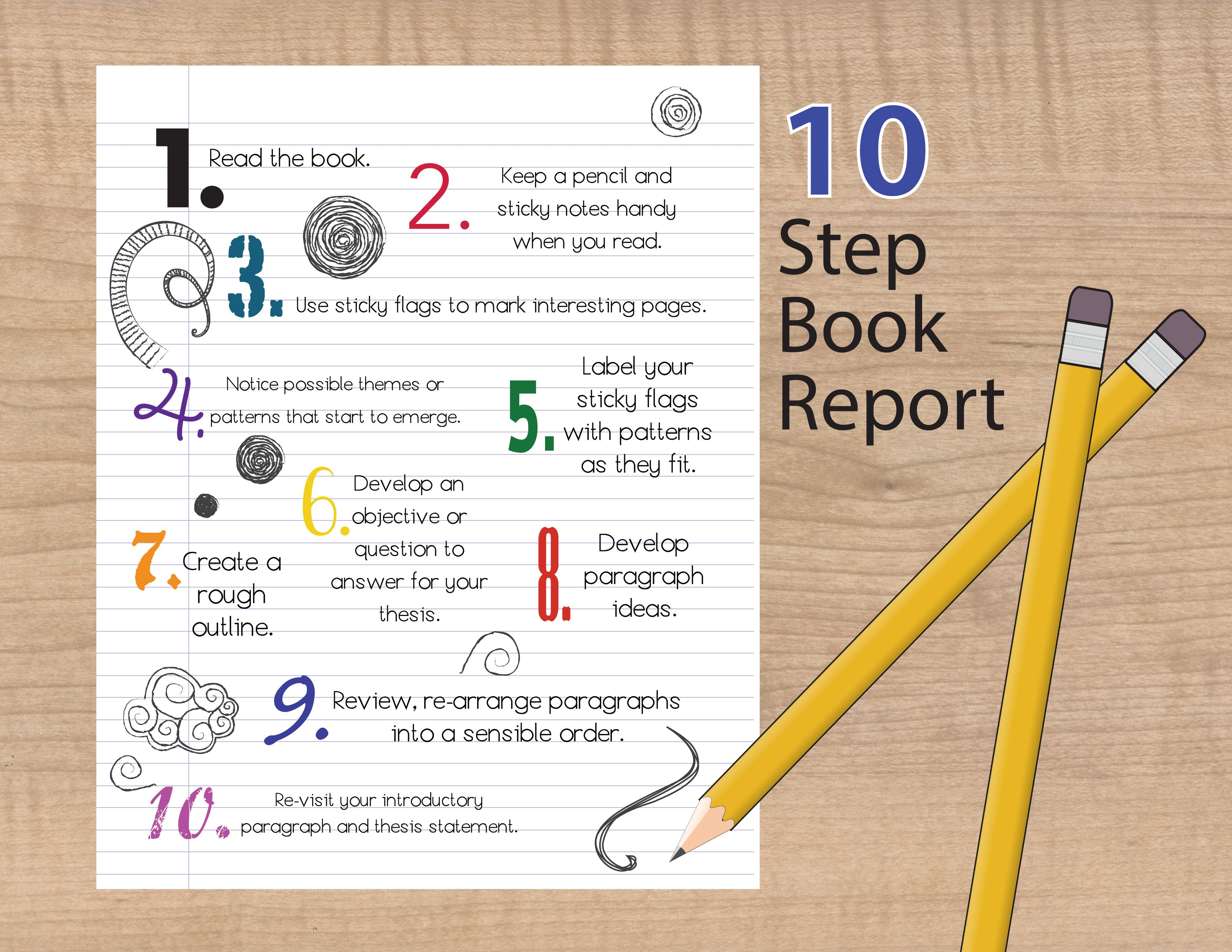 How To Write A Succesful Book Report
