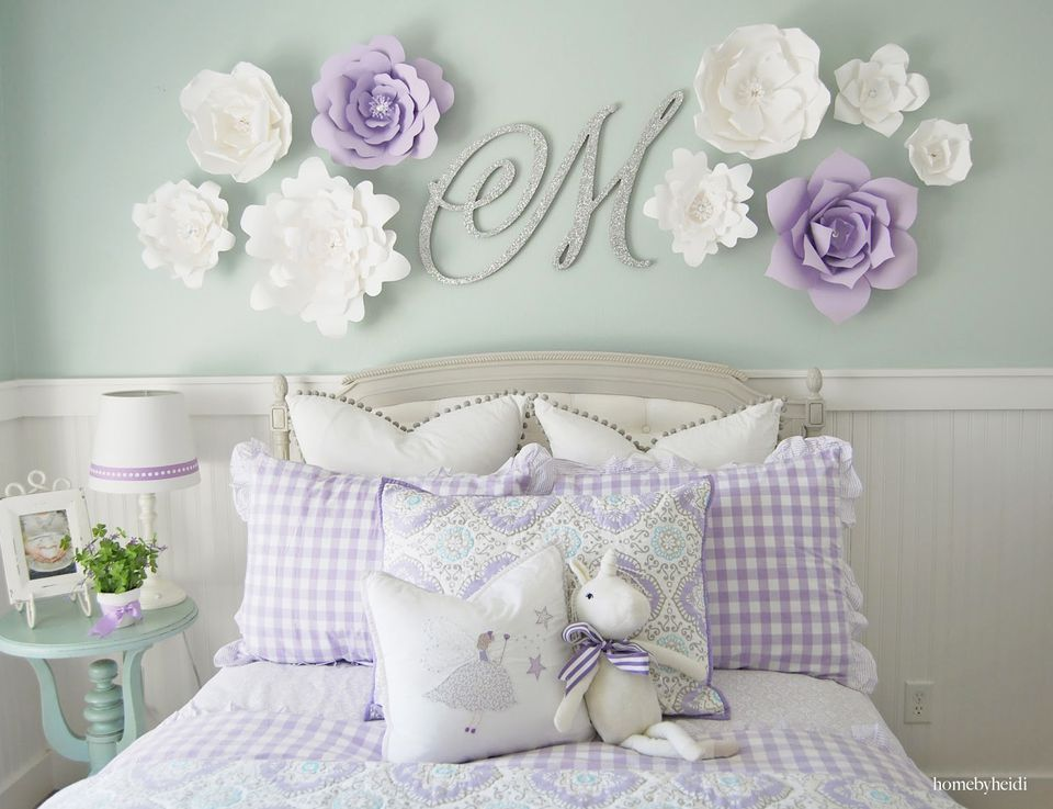 24 Wall Decor Ideas for Girls' Rooms on Girls Room Decorations  id=33874