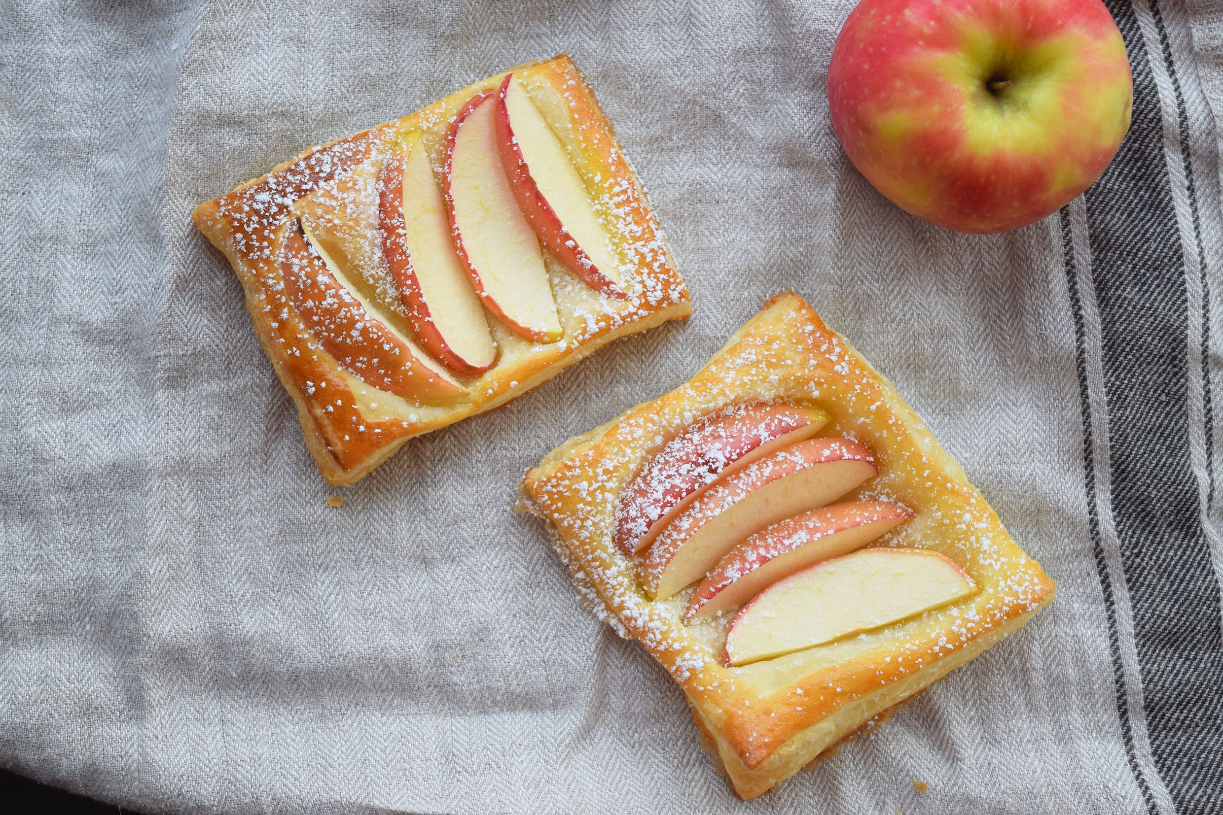 Puff Pastry Apple Danishes