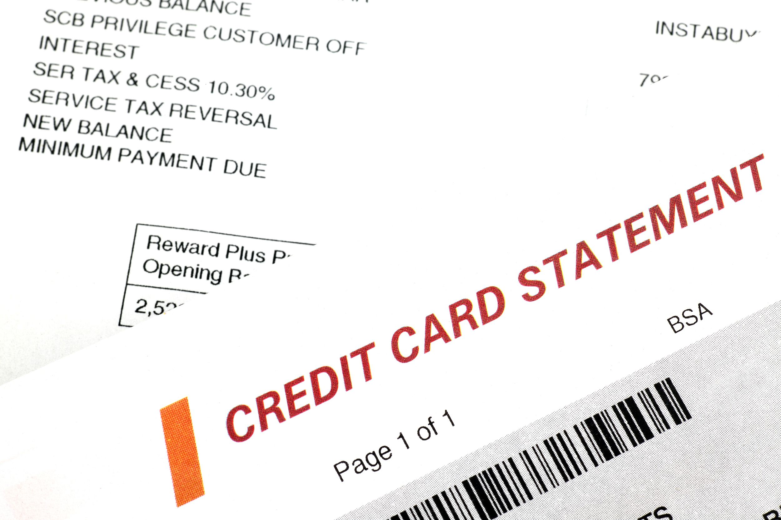 Security Bank Credit Card Online Billing Statement