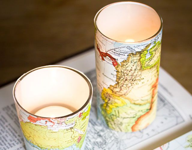 Paper Covered Votives