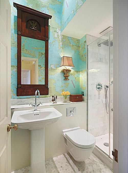 7 Great Ideas For Tiny Bathrooms on Ideas For Small Bathrooms  id=60435