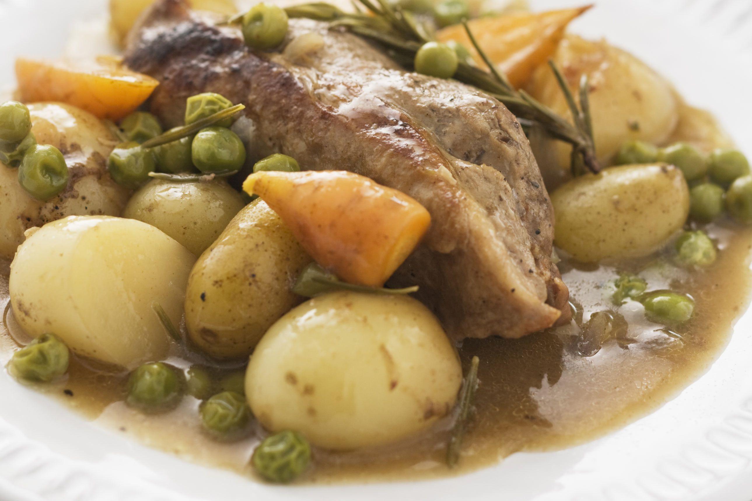 Lamb Stew With Potatoes Recipe