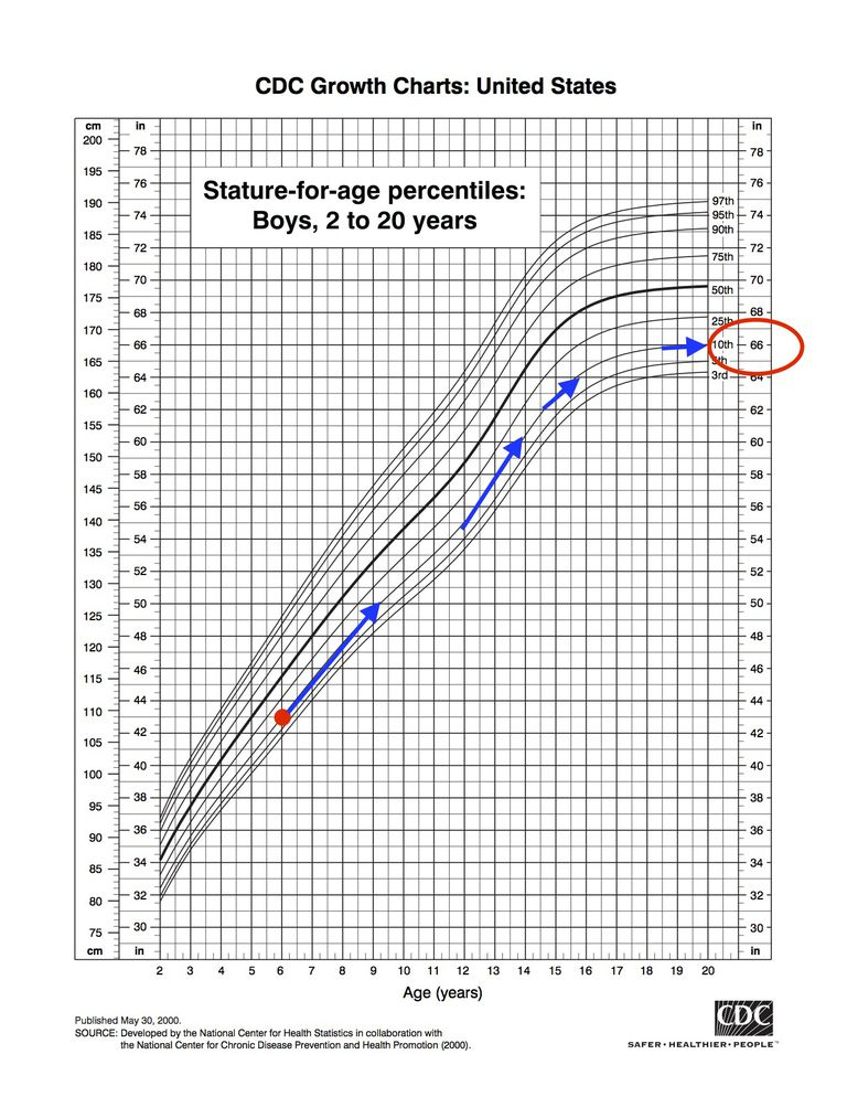 Adult Weight For Stature Chart By Age