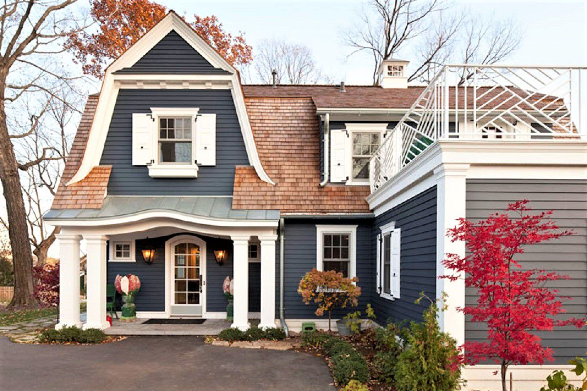 Inspiring Exterior House Paint Color Ideas