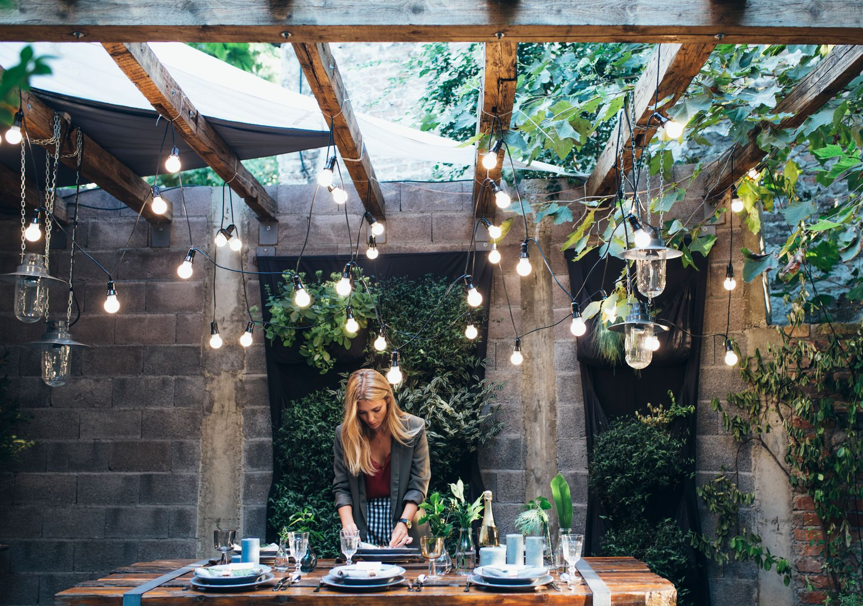 14 Best Outdoor Decorating Ideas for Small Spaces on Backyard Patio Decorating Ideas id=84673