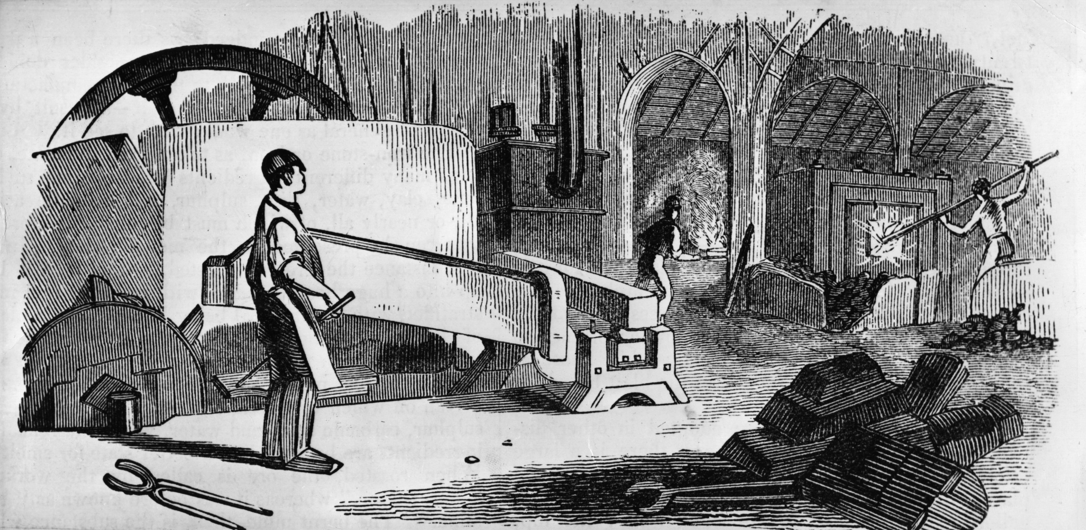 Iron In The Industrial Revolution