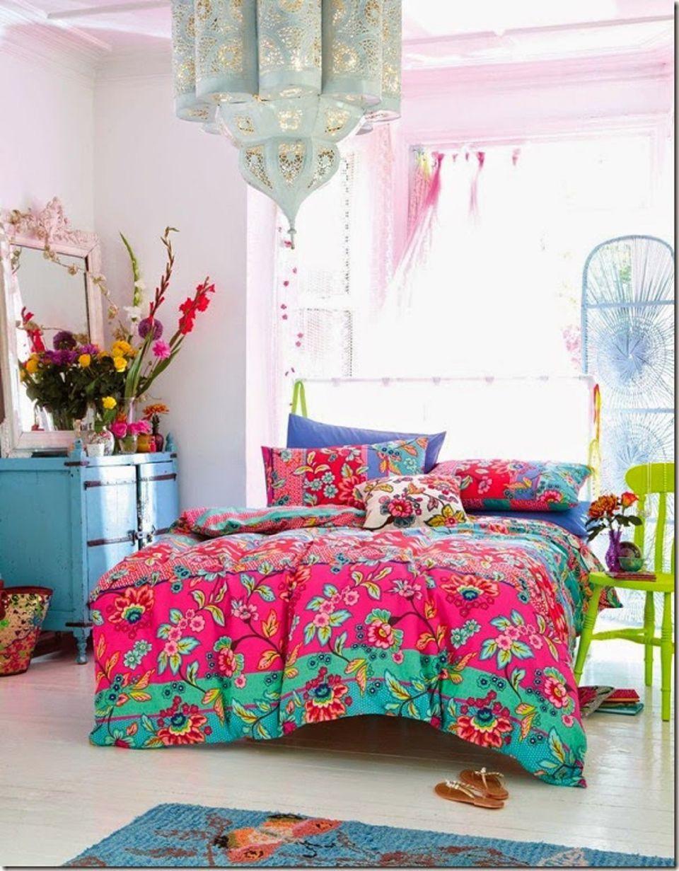 Beautiful Boho Bedroom Decorating Ideas and Photos on Boho Room Decor  id=25209