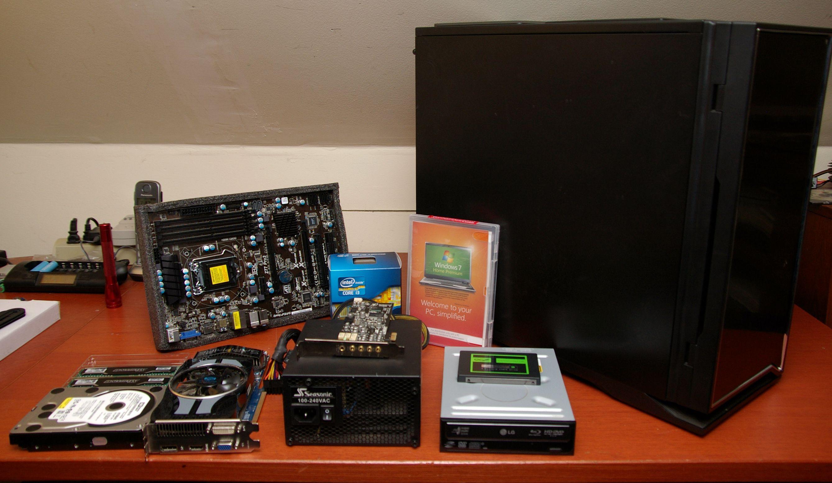 Desktop Pc Component Checklist