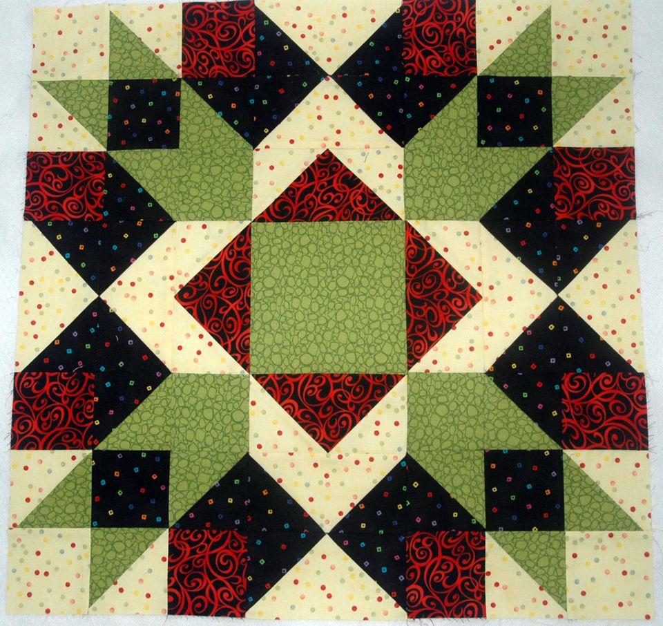 Easy Block Quilt Barn Pattern