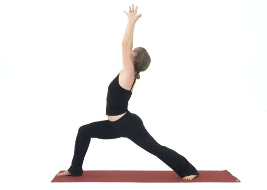8 Standing Yoga Poses Sequence - Warrior I