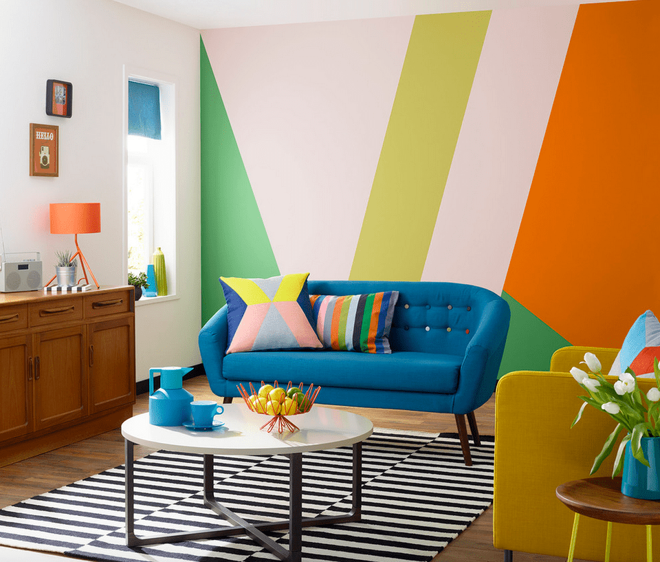 21 Colorful Living Room Designs on Colourful Living Room  id=69857