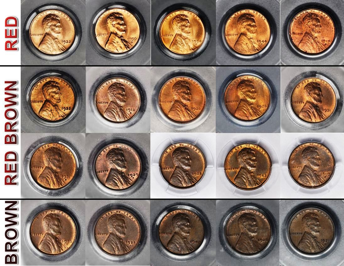 What Color Is Your Copper Coin