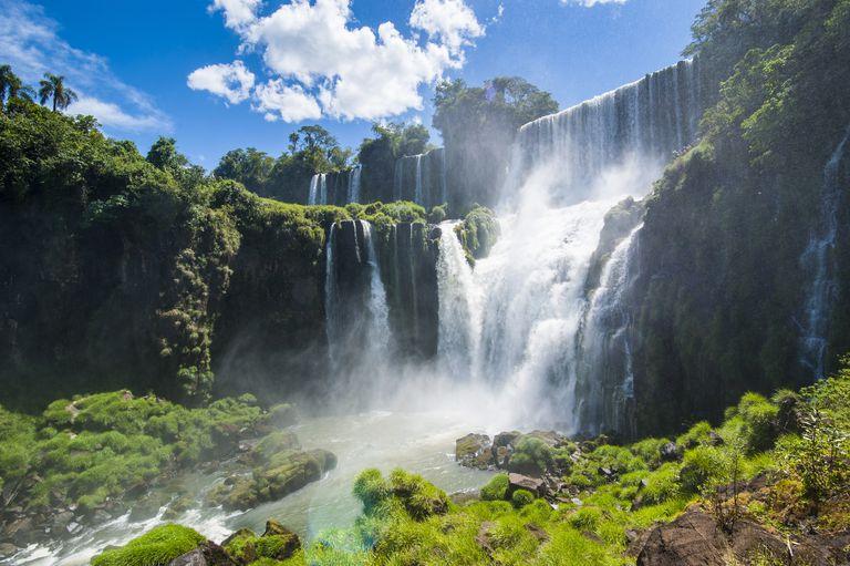 Foz de Iguazu (Iguacu Şelaleleri), Iguazu Ulusal Parkı, UNESCO Dünya Mirası Listesi, Arjantin, Güney Amerika