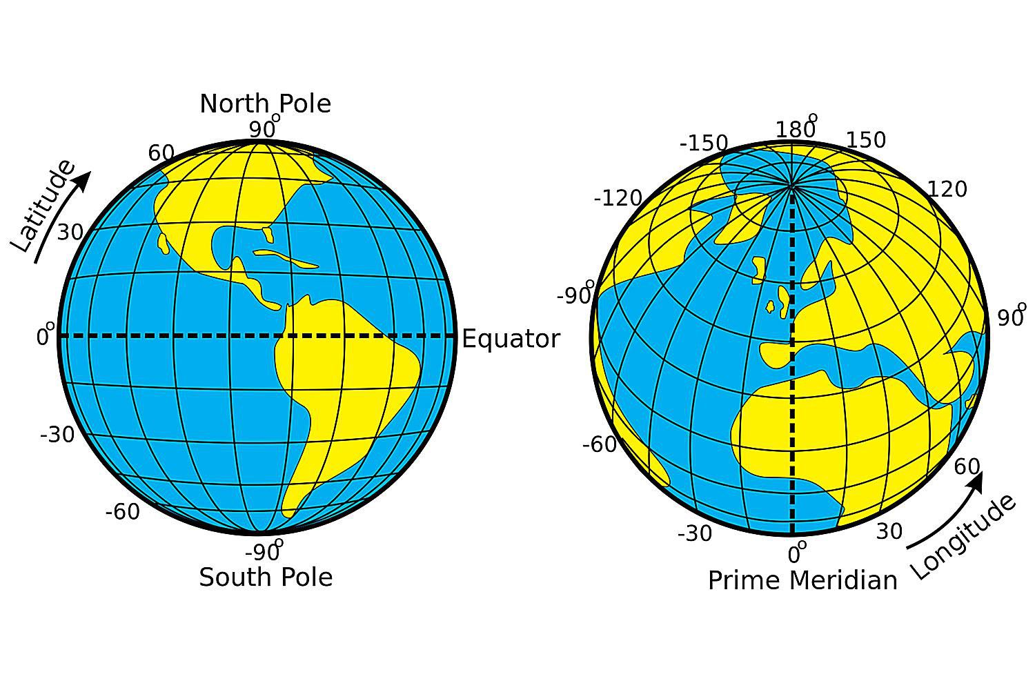 How Far Is It Between Lines Of Latitude And Longitude
