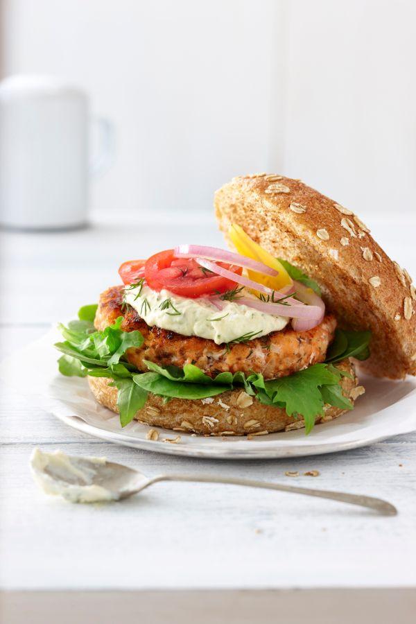 Salmon Burgers or Patties Recipe