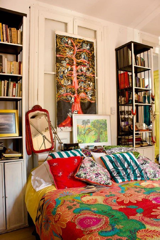 Beautiful Boho Bedroom Decorating Ideas and Photos on Boho Room Decor  id=57053