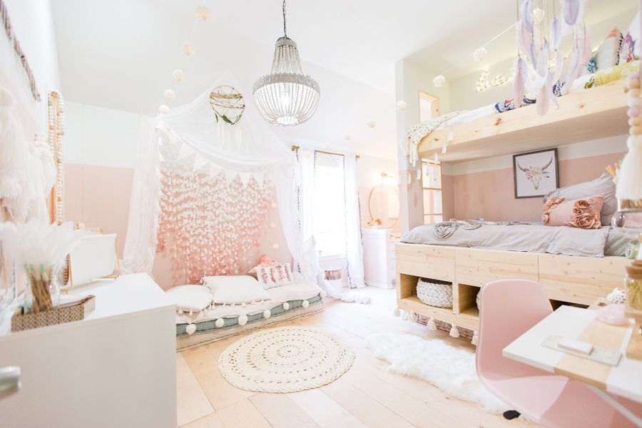 """21 """"Dream Bedroom"""" Ideas for Girls on Room Decoration For Girls  id=17630"""