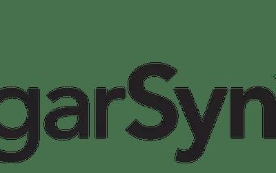 A screenshot of the SugarSync logo