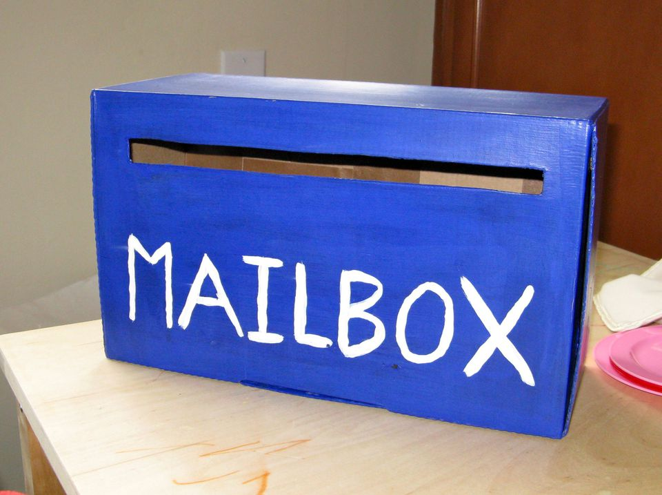 How To Make A Mail Box Craft