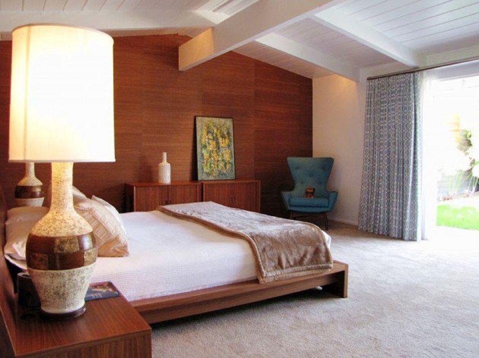 midcentury modern bedroom decorating ideas