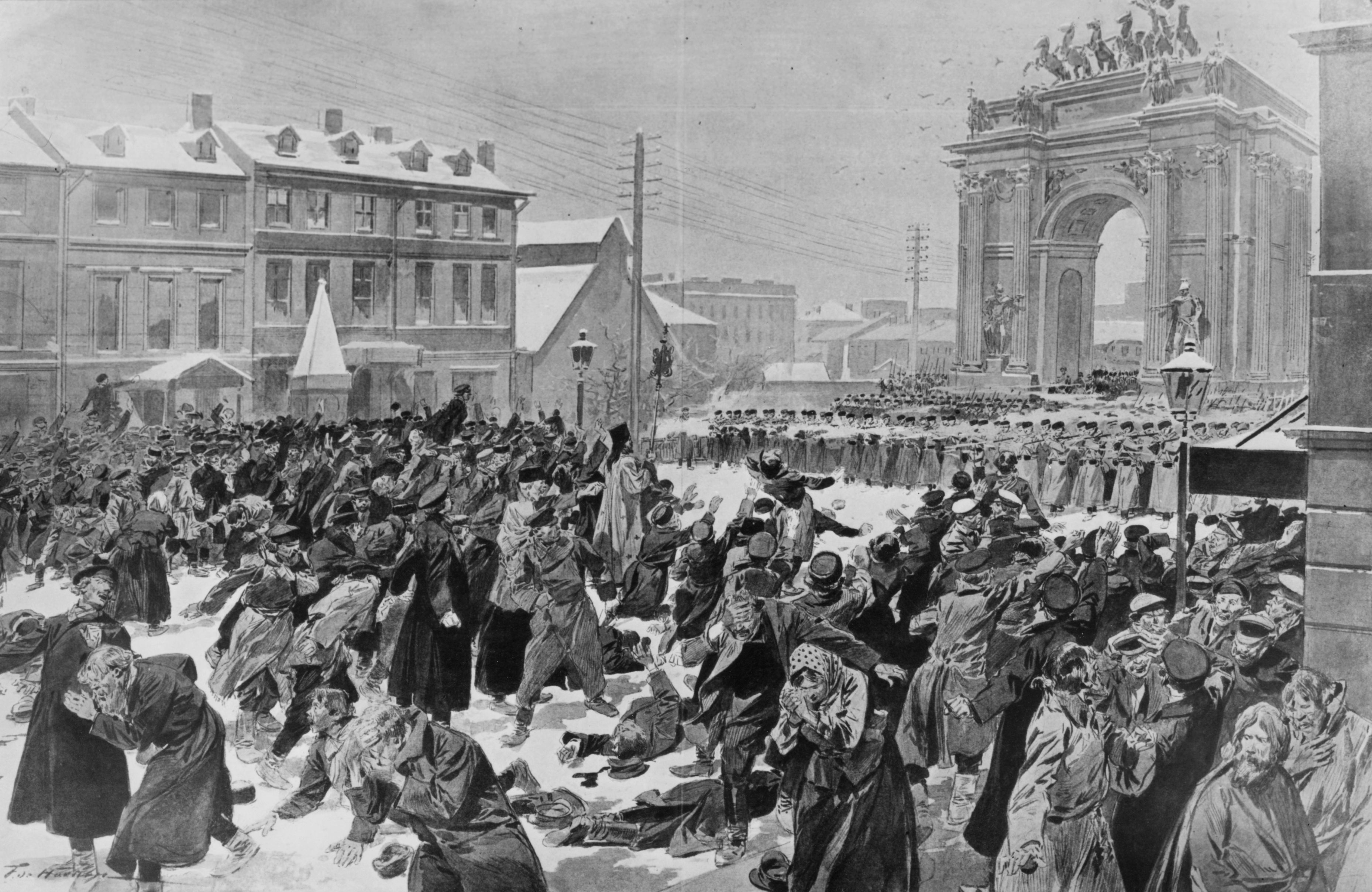 Bloody Sunday Prelude To The Russian Revolution Of