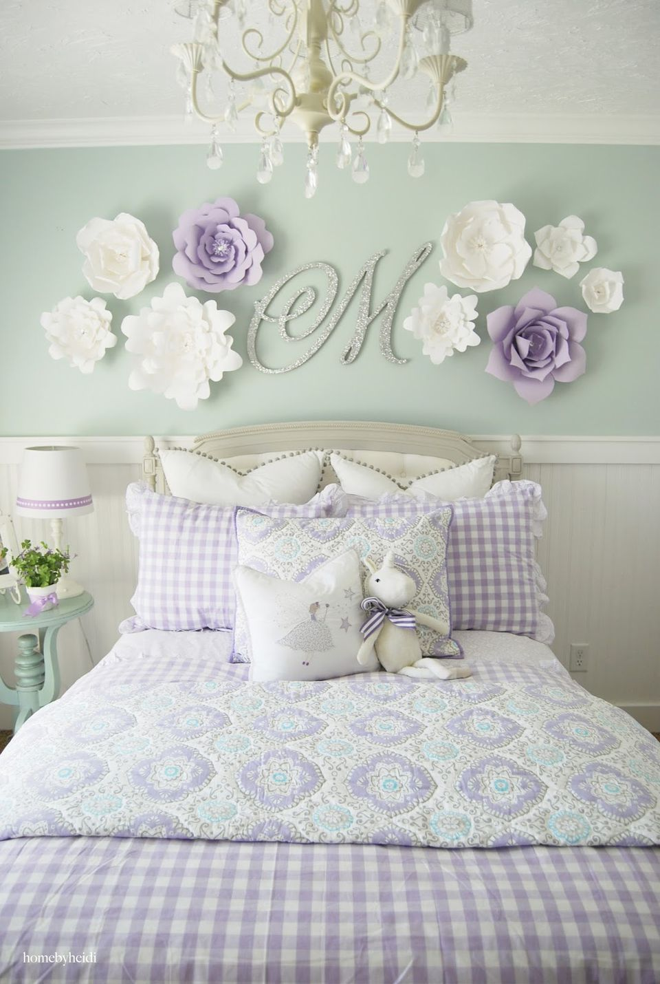 24 Wall Decor Ideas for Girls' Rooms on Girls Room Decorations  id=60109